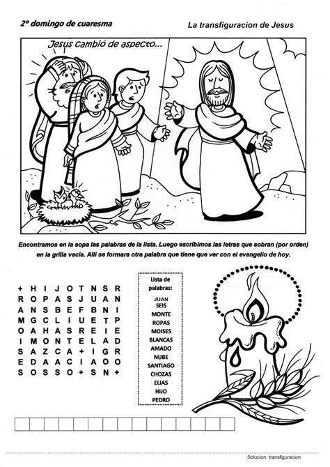 Camino hacia la Pascua: Recursos Catequesis Segundo ...