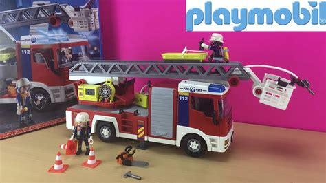Camión bombero con luz (4820) Playmobil   Juguete de ...
