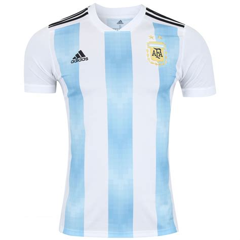 Camisa Argentina I 2018 adidas   Masculina