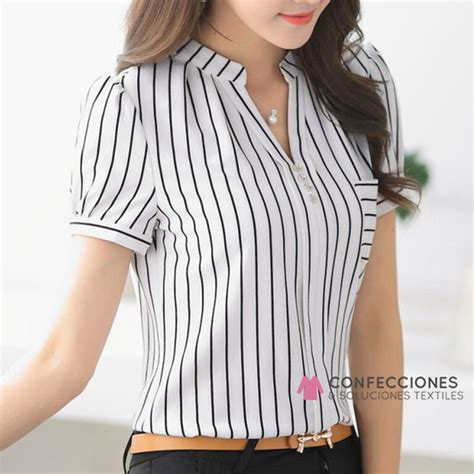 Camisas para mujer manga larga, corta - Confecciones ...