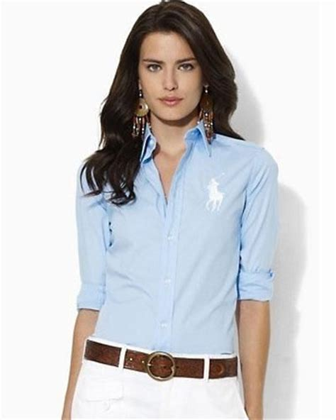 Camisas Polo Mujer LS89 Camisas Polo Ralph Lauren Mujer ...