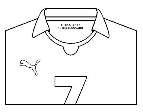 Camiseta de futbol colorear - Imagui