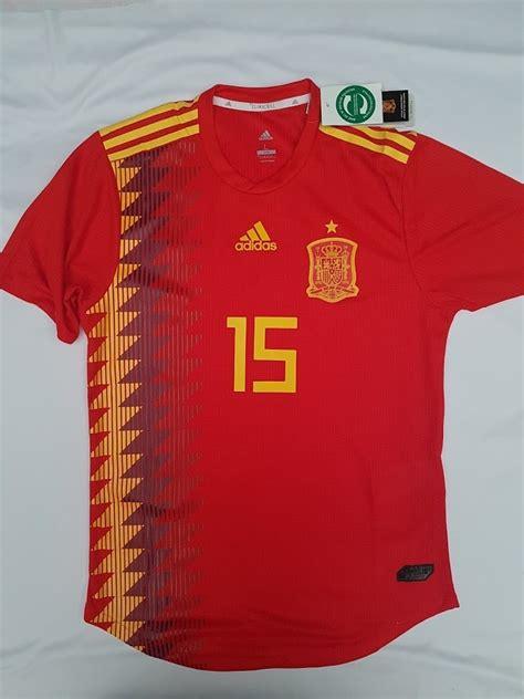 Camiseta De Fútbol Selección De España Mundial Rusia 2018 ...