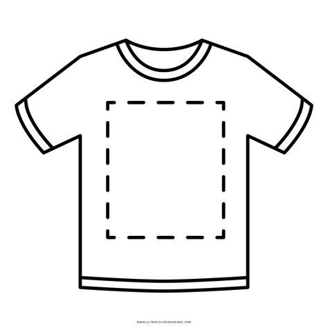Camiseta Desenho Para Colorir - Ultra Coloring Pages