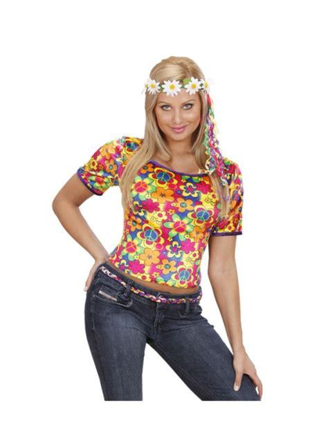 Camiseta hippie para mujer: comprar online en Funidelia.