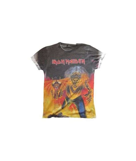 Camiseta IRON MAIDEN   Number Of The Beast Sublimación ...