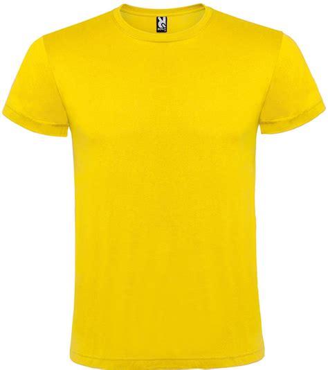 Camiseta manga corta infantil color AMARILLO - €14.95 ...