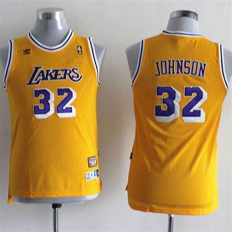 Camiseta Nino Amarillo Johnson Los Angeles Lakers ...