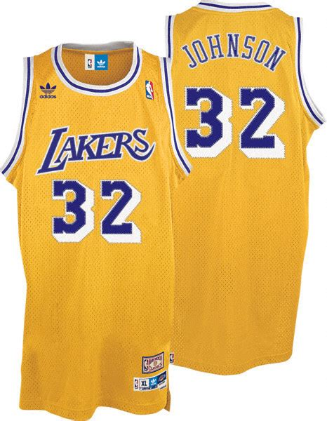 Camiseta Niño Magic Johnson Los Angeles Lakers ...