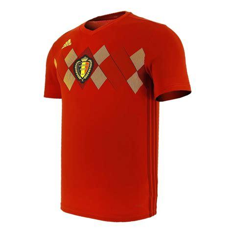 Camiseta oficial selección Bélgica 2018 rojo | futbolmania