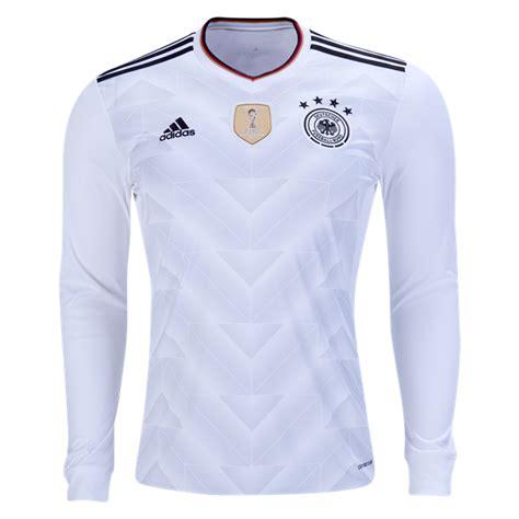 camiseta primera equipacion de Alemania 2018 manga larga