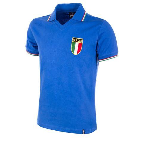 Camiseta retro Selección Italiana fútbol Mundial 1982