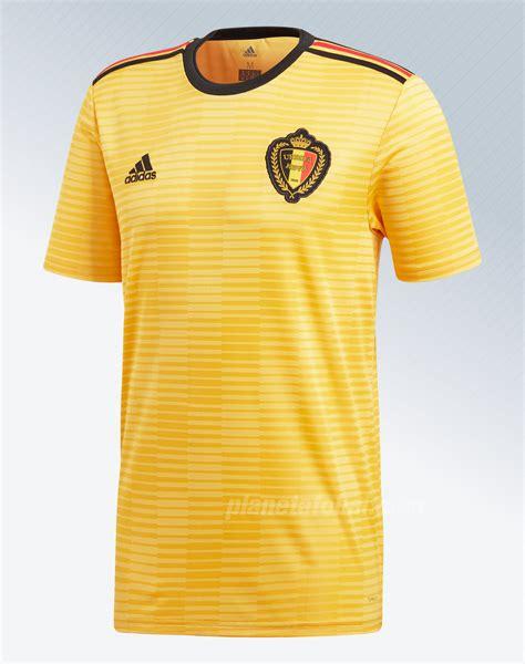 Camiseta suplente Adidas de Bélgica Mundial 2018 | Planeta ...