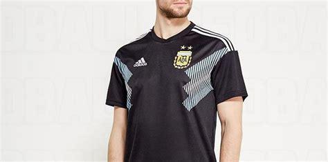 Camiseta suplente de color negro para Argentina en Rusia 2018