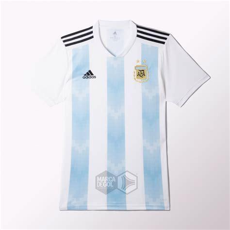 Camiseta titular adidas de Argentina Mundial 2018 — FILTRADA