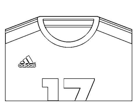 Camisetas de futbol para imprimir y pintar - Imagui