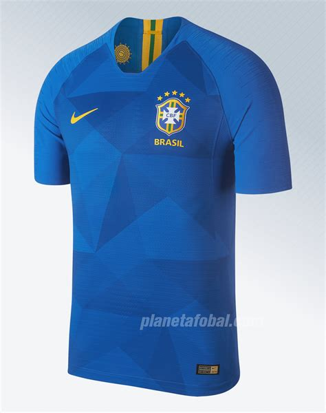 Camisetas Nike de Brasil Mundial 2018   Planeta Fobal