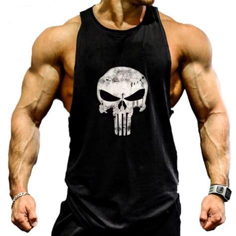 Camisetas para hombre para el gimnasio de tirantes.