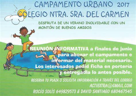 Campamento urbano en el cole | Colegio Nuestra Señora del ...