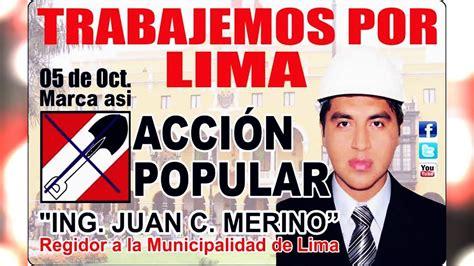 CAMPAÑA 2014 DEL ING. JUAN CARLOS MERINO - ACCION POPULAR ...