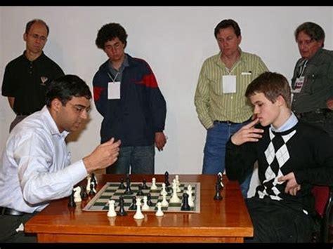 Campeonato del mundo de Ajedrez 2013 PREVIA Carlsen vs ...