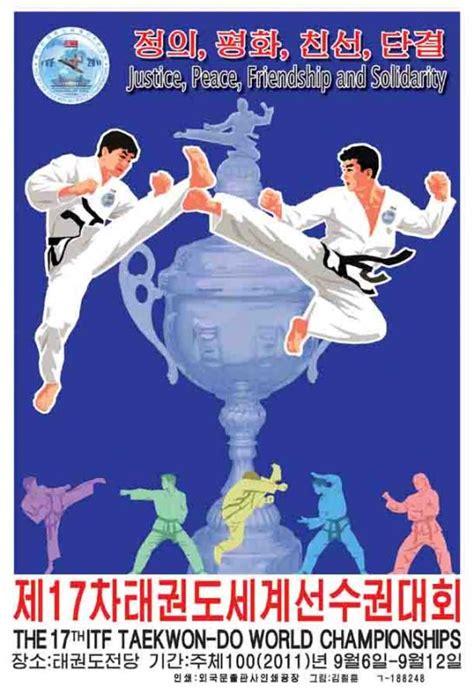 Campeonato Mundial de Taekwon Do en Pyongyang, Corea ...