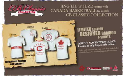 Canada Basketball Launches CB Classic Collection by JUZD ...