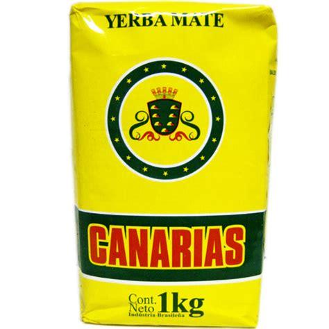 Canarias Yerba Mate No Stem  Sin Palo  2.2 lbs/1 kg Ilex ...