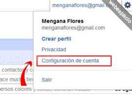 Cancelar cuenta Gmail