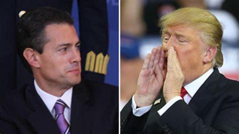 ¿Cancelará Peña Nieto la visita a Trump ante anuncio del muro?