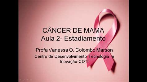 Câncer de mama: Aula 2 - Estadiamento - YouTube