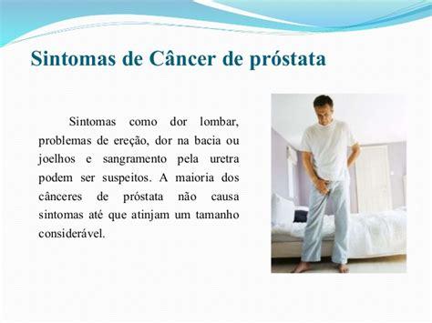 Câncer de próstata apresentação