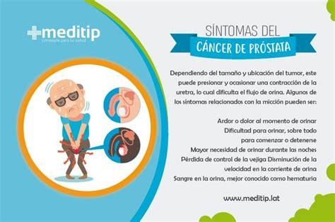 Cáncer de próstata: signos tempranos y diagnóstico - Meditip