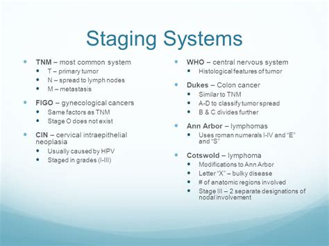 Cancer Staging & Grading Staff Training Meetings - ppt ...