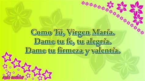 Canción: Como tú, Virgen María - Lyrics - Flos Mariae ...