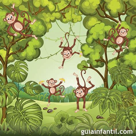Canción para aprender inglés: Five Little Monkeys