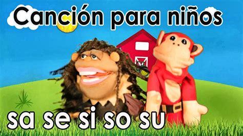 Canción sa se si so su   El Mono Sílabo   Videos ...