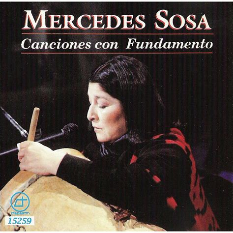 Canciones Con Fundamento - Mercedes Sosa mp3 buy, full ...