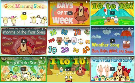 Canciones para aprender inglés (II) - Web del maestro