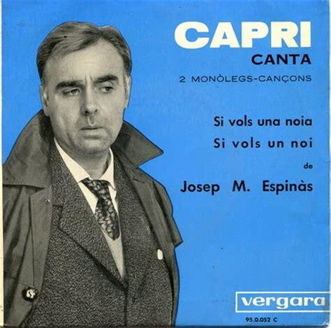 Cançons en català i més: Joan Capri  2 monòlegs  cançons