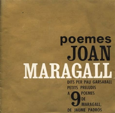 Cançons en català i més: Pau Garsaball  Poemes de Joan ...