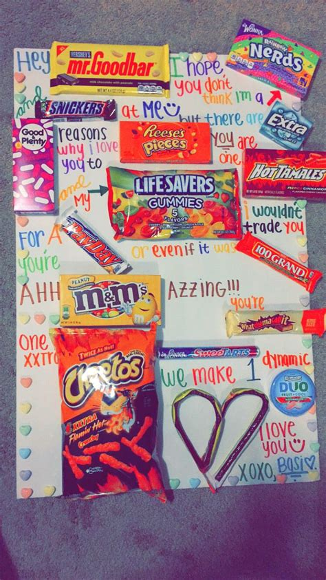 Candy Poster for boyfriend. | Graduation | Pinterest ...