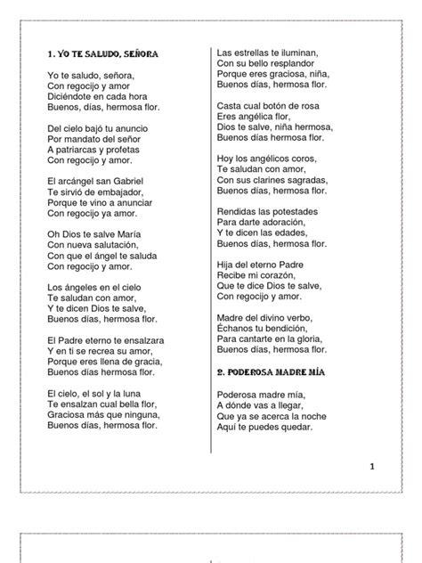 Cantos Para La Virgen Yolox 2012