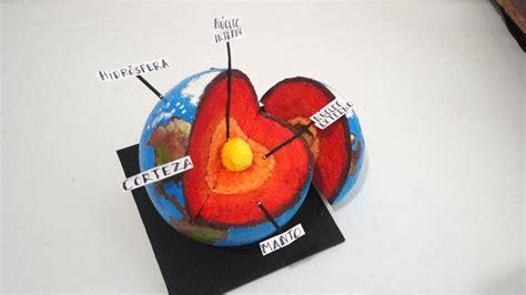 Capas de la Tierra  maqueta    YouTube