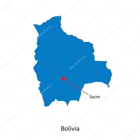 Capital Bolivia Mapa