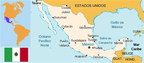 Capital De Mexico Mapa