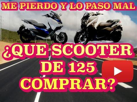 CAPITULO 4 ¿Qué scooter de 125 comprar? - YouTube
