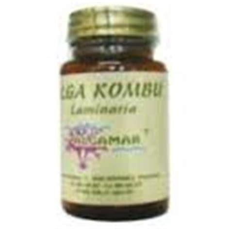 Cápsulas de Kombu Algamar Venta Dietéitca on line
