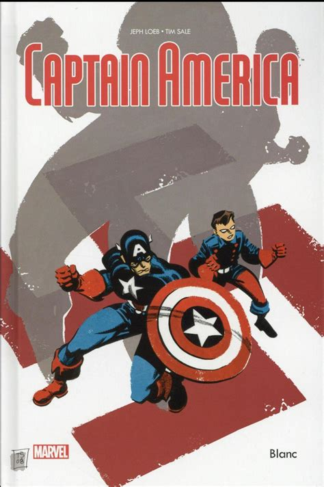 Captain America ; blanc   Jeph Loeb, Tim Sale     France ...