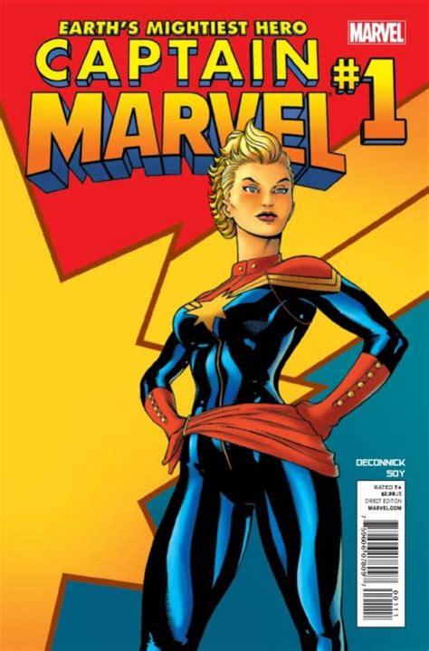 Captain Marvel 1 (Marvel Comics) - ComicBookRealm.com